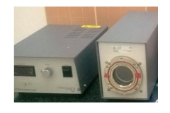 LCT50 Cooled PMT Housing (right) and associated power supply (left).
